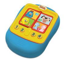 Brinquedo Bebê Musical Agenda Galinha Pintadinha Dican -
