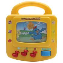 Brinquedo Bebê Musical TV Galinha Pintadinha Dican -
