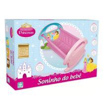 Brinquedo Berço Soninho do Bebê Princesas Nig -