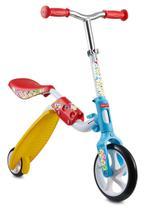 Brinquedo Bicicleta Patinete Infantil Equilíbrio 2 Em 1 Brincar Coordenação Motora Radical Rodas Fisher Price - Frisher-Price