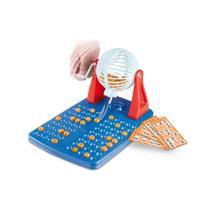 Brinquedo bingo family club acompanha 48 cartelas brinquemix - BRINQMIX