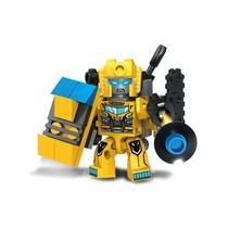 Brinquedo Blocos De Montar Cyberbot Robô Transformers - Inblox