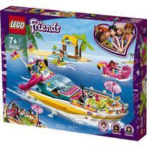 Brinquedo Blocos de Montar Lego friends Barco de festa 41433 -