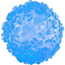 Brinquedo Bola De Gelo Com Luz Dtc Azul -