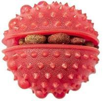 Brinquedo Bola Porta Petiscos Vermelha Guttipet -
