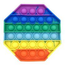 Brinquedo Bolhas Anti Stress Sensorial Colorido TikTok Relaxante Pop It Fidget Toys Original - Fidegt Toys