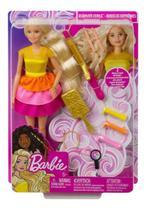Brinquedo Boneca Barbie Penteados Dos Sonhos Mattel GBK24 -