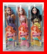 Brinquedo boneca cindy sereia encantada - Wellmix
