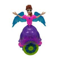 Brinquedo Boneca Dancing Princess Luzes Sq3874 Só Qualidade - Sq Distribuidora