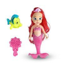 Brinquedo Boneca Sereia com Linguado e Acessórios - Attic