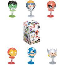 Brinquedo Boneco Marvel Crazy Jumpers Surpresa Dtc 4469 -