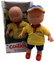 Brinquedo Boneco Menino Caillou 35 Centímetros Do Desenho Infantil Para Crianças - Intek -