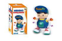 Brinquedo Boneco Musical Canta E Dança Acende Luz Menino Dançarino Toy King -