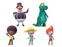 Brinquedo Bonecos De Vinil Mundo Bita Kit Com 5 Figuras 2732 - Líder Brinquedos