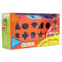 Brinquedo Caixa Encaixa Da Estrela Novo Lacrado -