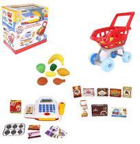 Brinquedo Caixa Registradora Com Som E Luz C/ Acessórios - Wellmix