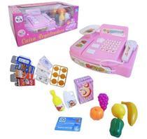 Brinquedo Caixa Registradora Com Sons E Luzes Pica Pau -