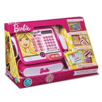 Brinquedo Caixa Registradora Luxo Barbie com Sons Fun 72749 -