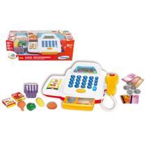 Brinquedo Caixa Registradora Mini Chef com Som Xalingo 11476 -