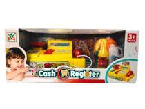 Brinquedo Caixa Registradora Som e Luz Acessórios Mercadinho - Toy King