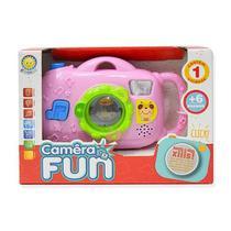 Brinquedo cãmera infantil bebê musical fun - kitstar -