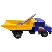 Brinquedo Caminhão Carreta Basculante com Pá - Silmar brinquedos