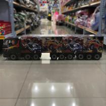 Brinquedo caminhão de madeira personalizado - Lojas Do Banana
