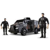 Brinquedo Caminhão Tático Blindado Brinde 2 Militares Roma -