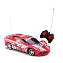 Brinquedo carrinho de controle remoto corrida escala 1:24 - Samba Toys