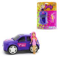 Brinquedo Carrinho de Menina Com Boneca - Samba Toys -