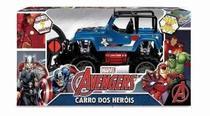 Brinquedo Carrinho Pick-up Road 4x4 Controle Capitão América Vingadores - Mimo