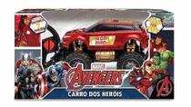 Brinquedo Carrinho Pick-up Road 4x4 Controle Homem de Ferro Vingadores - Mimo
