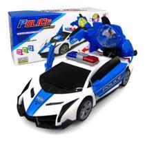 Brinquedo carro police bate e volta - Yijun
