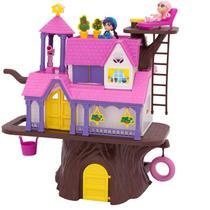 Brinquedo Casa Na Árvore Com Boneca E Acessórios 3901 - Homeplay -