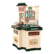 Brinquedo Chef Cozinha Kit Completo Grande Fogão Vapor Forno - Baby Style