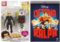 Brinquedo Colecionável (Calhoun+ DVD Disney Detona Ralph) - Dtc