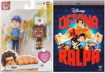 Brinquedo Colecionável (Felix Com Avatar+ DVD  Detona Ralph) - Dtc