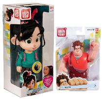 Brinquedo Colecionável (Ralph+ Boneca Vanellope Que Fala) - Dtc