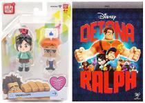 Brinquedo Colecionável(Vanellope e Avatar+DVD Detona Ralph) - Dtc