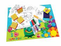 Brinquedo com Carimbos DTC Play Doh Arte 3937 -