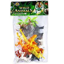 Brinquedo Conjunto Animais da Selva NO Saquinho Polibrinq 2312 -
