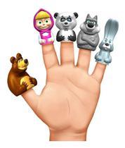 Brinquedo Conjunto De Dedoches Masha E O Urso Estrela -