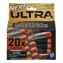 Brinquedo Conjunto Refil Nerf Ultra C/20 Dardos Hasbro E6600 -
