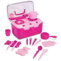 Brinquedo Cozinha Infantil Fogão & Cia Fogãozinho Maleta - AMBEV