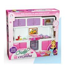 Brinquedo Cozinha Infantil Fogãozinho Cristal Lua De Cristal -
