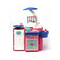 Brinquedo cozinha infantil menina baby alive sai agua acessorios - Cotiplas