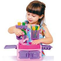 Brinquedo Cozinha Infantil Play Time C/ Acessórios Cotiplas -