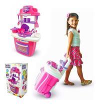 Brinquedo Cozinha Infantil Portatil Fogão Panela Lançamento - Maral