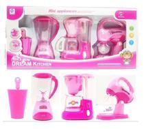 Brinquedo Cozinha Kit Conjunto C/ 4 Peças Liquidificador - Imporluc