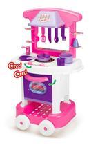 Brinquedo Cozinha Play Time Menina com Acessórios 66 cm - Cotiplás